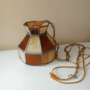 Vintage Tiffany Light w/Plug