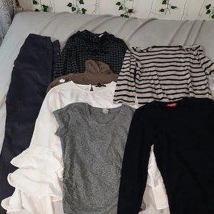 Bundle of random clothes