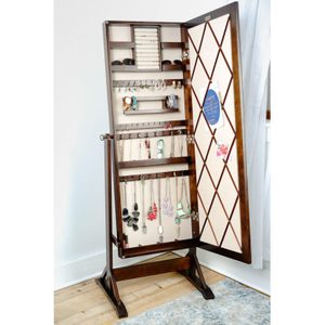 FREE DELIVERY Jewelry Mirror Cabinet